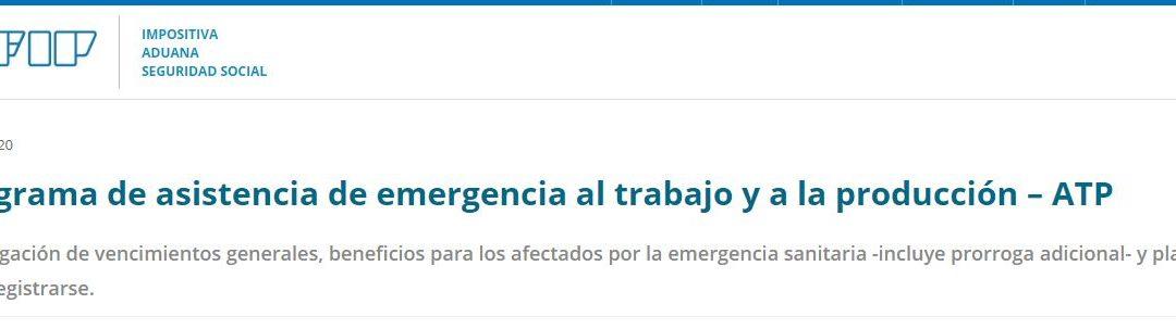 Sitios web con información importante para MiPyMEs – Y el Programa de Asistencia de Emergencia al Trabajo y la Producción