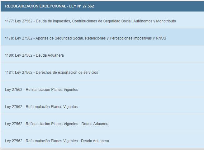 Moratoria AFIP 2020 para deudas vencidas al 31de julio.